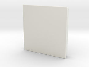 Extrude -2  in White Natural Versatile Plastic
