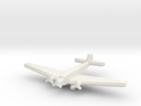Ju 52/3mge (single) 1:900 in White Natural Versatile Plastic