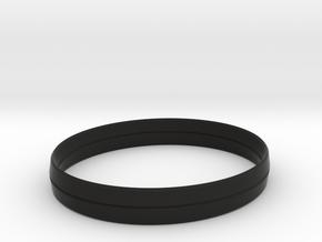 3.5in x .5in BladeBand Bracelet in Black Strong & Flexible