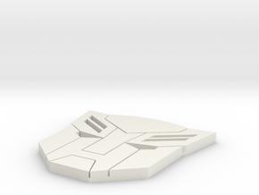 autobot in White Natural Versatile Plastic