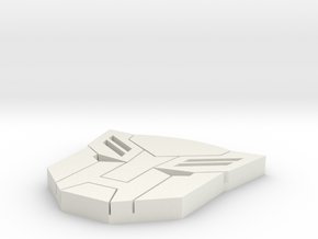 small autobot in White Natural Versatile Plastic