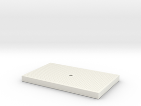 FREMO Signal Base - Lid in White Natural Versatile Plastic