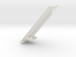 Ambassador bow torpedo launchers version 2 in White Strong & Flexible