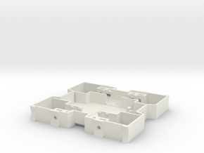 23 Shapeways2 in White Natural Versatile Plastic