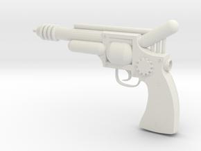 Professor X's Raygun in White Natural Versatile Plastic
