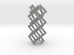 Right-angled Braidwork I in Metallic Plastic