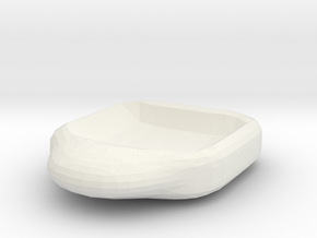 Schale 001 in White Natural Versatile Plastic