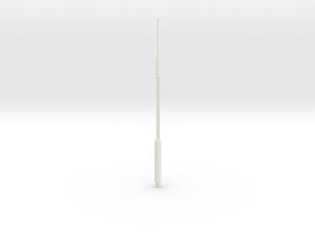 Hancock Shorter Antenna in White Natural Versatile Plastic