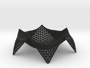 starfish fruit bowl - 12 in Black Strong & Flexible