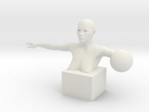 Figure 001 in White Natural Versatile Plastic