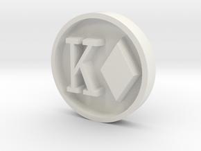 spider_stamp_v2 in White Natural Versatile Plastic