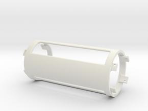 MSLED Mounting Board v4 Mid section v2 in White Natural Versatile Plastic