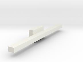 coversliptee5narrow in White Natural Versatile Plastic
