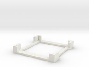 coverslipholder5wide in White Natural Versatile Plastic