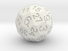 Solid D40 in White Strong & Flexible