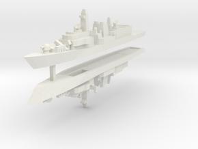 UK Type 23 1:2400 x2 in White Natural Versatile Plastic
