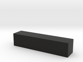 Block 4x4x18 in Black Strong & Flexible