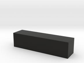 Block 3x3x12 in Black Strong & Flexible
