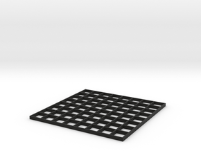 60mm LED Array Grid in Black Natural Versatile Plastic