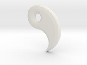 Ying Yanger -Upper Hook v1a in White Natural Versatile Plastic