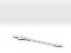Power Lance in White Natural Versatile Plastic