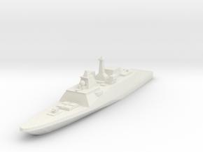 FREMM Frigate 1:2400 in White Strong & Flexible