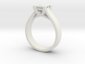 Crossover Ring 7.5 in White Strong & Flexible