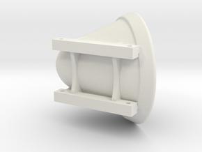 BaggerEmmer Krammer in White Natural Versatile Plastic