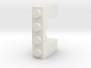 Arabian Window Brick in White Strong & Flexible