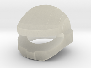 Shock Trooper Helmet Mark-I in Transparent Acrylic