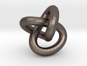 Endless knot thick - 1.7 cm in Stainless Steel