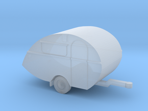 Wohnwagen in 1:220 für Spur Z in Smooth Fine Detail Plastic