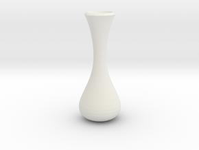 vase 6 in White Natural Versatile Plastic