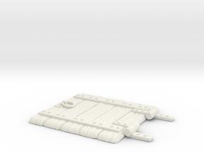 Big Floor Door 2014 - No Ring - color (8cm) in White Natural Versatile Plastic
