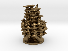 Mini Anthill Model in Natural Bronze