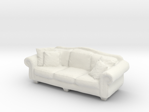 1:24 Sofa in White Strong & Flexible