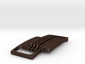 Tied down || Simple bracelet in Matte Bronze Steel