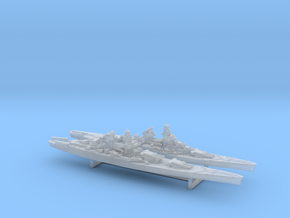 48FN02 French Navy Battleship Pack 2 in Smooth Fine Detail Plastic
