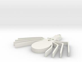 spider in White Natural Versatile Plastic