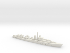HMS Barfleur (Battle class) 1:1800 in White Natural Versatile Plastic