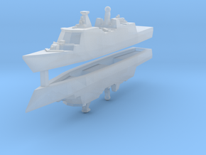 Danish Absalon class 1:3000 x2 in Smooth Fine Detail Plastic