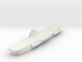 Clemenceau Carrier 1:3000 x1 in White Natural Versatile Plastic