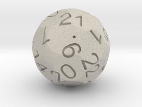 Alt D24 Sphere Dice in Natural Sandstone