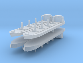 Generic Bulk Carrier 1:4800 x4 in Frosted Ultra Detail