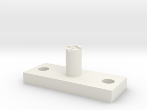jig for fiber and mirror in White Natural Versatile Plastic