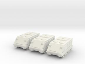 15mm Gavin APC (x3) in White Natural Versatile Plastic