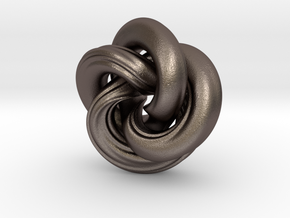 Torus?  They Hardly Know Us! in Polished Bronzed Silver Steel