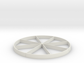 1:48 SLA Stand in White Natural Versatile Plastic