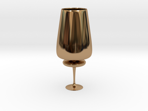 Cupfoo in Polished Brass