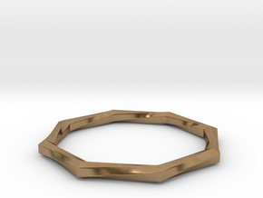 Torque Ring in Natural Brass